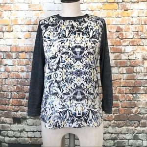 Rebecca Taylor 3/4 sleeves silk tee size 0